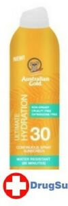 BL Australian Gold Continuous Spf#30 Spray 6 oz Ultimate Hydr - Two PACK