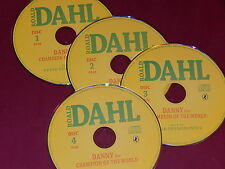DANNY THE CHAMPION OF THE WORLD on 4 AUDIO CDs by ROALD DAHL  NEW