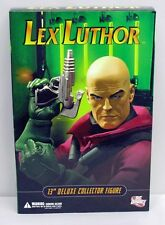 DC Direct 13 inch Deluxe Collector Figure Lex Luthor NIP 14+ 2005 S200-3