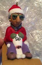 "1998 Hallmark Keepsake© Christmas Ornament ""Maxine"" Seriously Sledding"