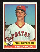 1976 Topps #29 Rick Burleson Boston Red Sox Baseball Card EX/MT