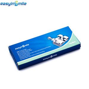 1 Pack  Easyinsmile Dental Orthodontic ROTH Metal Bracket 0.022 3.4.5 With Hook