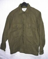 CANADIAN MILITARY COLD WEATHER WOOL COAT SIZE 70/40 MEDIUM