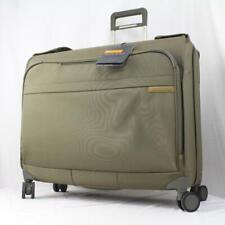 """BRIGGS & RILEY BASELINE U177 50"""" SPINNER GARMENT BAG OLIVE GREEN"""