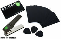 10 x Guitar Plectrum/Pick Material Plastic Cards For Pickmaster Pick Punch