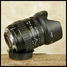 Canon EOS DIGITAL fit Sigma 28 135mm 1:2 Macro Zoom + Petal Hood FREE UK POST