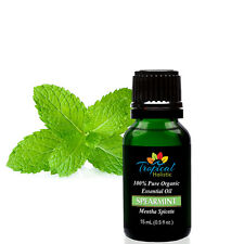 Spearmint Organic Essential Oil 15ml (1/2 oz) -100% Pure & Undiluted