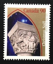 Canada #1587 MNH, Christmas Capital Sculptures - Flight to Egypt Stamp 1995