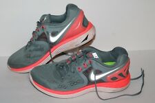 Nike Lunareclipse 4 Running Shoes, #629683-006, Grey/Pink, Womens US Size 8