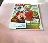 Rolling Stone Magazine December 19 2013 Ron Burgundy NSA The Best Of