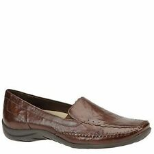"Low 3/4"" to 1 1/2"" Women's Leather Flats"
