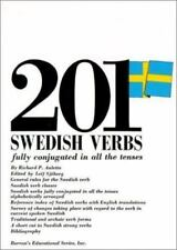201 Swedish Verbs Fully Conjugated in All the Tenses (201 Verbs Series)  VeryGoo