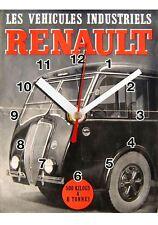 Publicité, Vintage, RENAULT Camion en Horloge murale -02hm