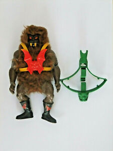BLACK FACE GRIZZLOR  vintage loose     MOTU masters universe he man