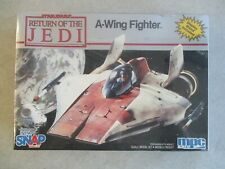 STAR WARS RETURN OF THE JEDI A-WING FIGHTER SNAP TOGETHER MODEL KIT 1982 MPC