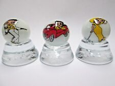 3  NICE BETTY BOOP COLLECTOR MARBLES