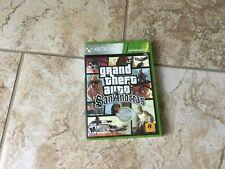 New listing Grand Theft Auto: San Andreas - Platinum Hits (Xbox 360, 2015)