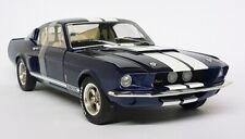 1/18 Solido Shelby Mustang Gt500 Nightmistblue Light Grey 1967