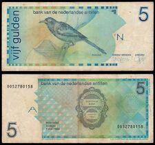Netherlands Antilles 5 GULDEN 1994 P 22c VG