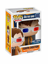 FUNKO POP Television_Doctor Who_TENTH DOCTOR + 3D Glasses Vinyl figure_Exclusive