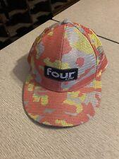 FOUR LOKO Alcoholic Beverage Beer Trucker Style Camo Adjustable Snapback Hat