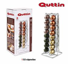 QUALITY 32 Coffee Pod Capsule Holder Tower Stand Rack for NESPRESSO