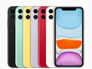 Apple iPhone 11 - 64GB 128GB - Various Colours - Unlocked Smartphone NEW SEALED
