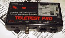 'Teletest Pro' The pocket Pro Video Test Pattern Generator & audio signal gen