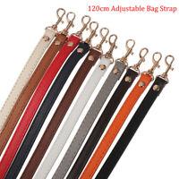 AU STK Handmade Cowhide Bag Strap Vachetta Leather Adjustable Pochette Crossbody