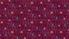 Fat Quarter Asami Japanese Writing Deep Purple 100% Cotton Quilting Fabric