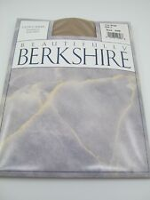 Berkshire Pantyhose City Beige Size 3 Ultra Sheer Sandalfoot 4408 Hosiery
