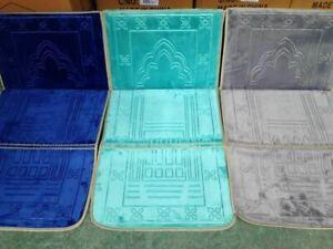 Foldable Luxury Recline Backrest Padded Prayer Mat / Rug/ Carpet / Padded Seat