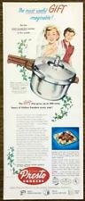 1952 Presto Cookers PRINT AD The Most Useful Gift Bride and Her Mother