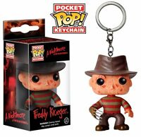 Funko Pop Keychain Horror Freddy Kruger Figure Pocket Key Pop