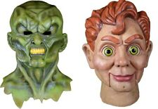 Halloween Goosebumps The Haunted & Slappy the Dummy Latex Masks YOU GET BOTH NEW