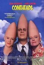 CONEHEADS Movie POSTER 27x40 B Dan Aykroyd Jane Curtin Laraine Newman Jason