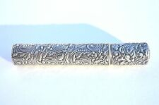 Beautiful Custom Made Gorham Sterling Silver Storage Case For Cushman'S Inhaler