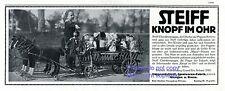 Steiff Bollerwagen Reklame 1911 Puppen Mädchen Pferde Werbung Ausflug +
