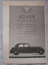 1944 Rover Original advert No.1