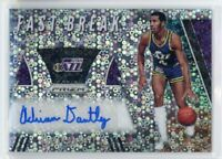 2019-20 Adrian Dantley Auto Panini Disco Prizm Autographs Fast Break