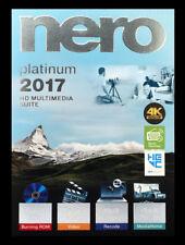 Nero 2017 Platinum HD Multimedia Suite - New Retail Box