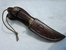"Vintage OLSEN H.C. MI USA KNIFE 9"" model with OLSEN Knives sheath   rare"