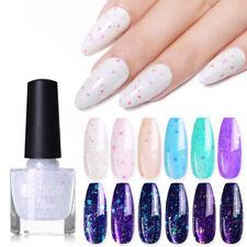 UR SUGAR Jelly Glitter Sequins Nail Polish Pink Purple Nail Art Varnish Design