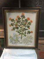 """vintage turner wall accessory """"thistle Camomiles"""""""