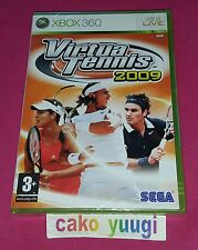 VIRTUA TENNIS 2009 XBOX 360 NEUF VERSION 100% FRANCAISE