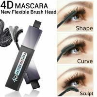 4D Curve False Lash Waterproof Mascara Black Eyelash Extension Volume Make up