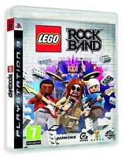 PS3 Game Lego Rock Band Rock Band New