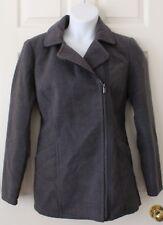 Ladies FADED GLORY zip up coat size L (12/14).  Machine washable.