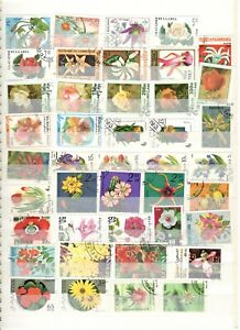 Flowers Thematic Collection on 2 stockpages!