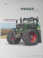 FENDT 900 VARIO Traktoren Prospekt 03/15 ( FENDT 18)